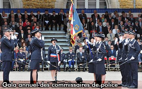 Soirée de gala des commissaires de police au Pavillon Dauphine