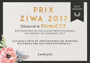 Prix Ziwa decerné à DirectDJ